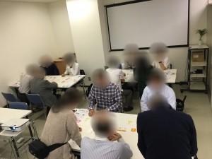 志木サテライトオフィスで開催した、就カツ体験セミナーの様子